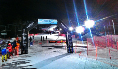 Sprint Night Race in Chamonix