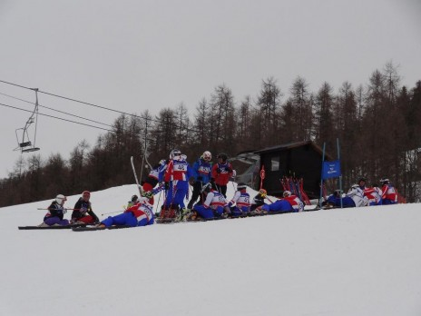Waiting for the Jump Inspection! Photo courtesy of Telemark-France