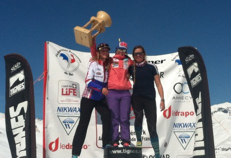 The League French Cup Podium with 2 of my favourite people ever! 2) Laura Grenier-Soliget & 3) Madi McKinstry