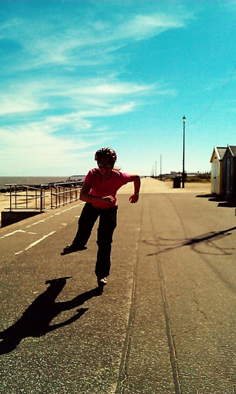 Enjoy the British Seaside Sun Skating in Felixstowe!
