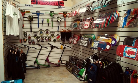 EdgeRiders shop inside