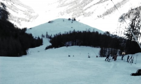 Photo of ski slopes in Celliac, France