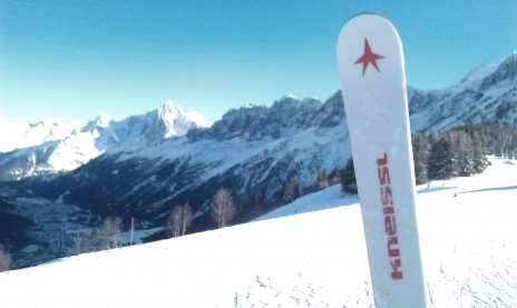 Photo of Kneissl ski equipment