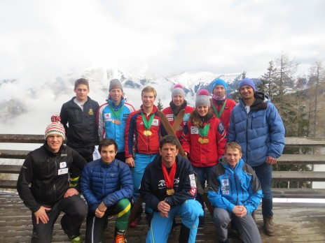 The New British Telemark Ski Team and Development Team 2014/15