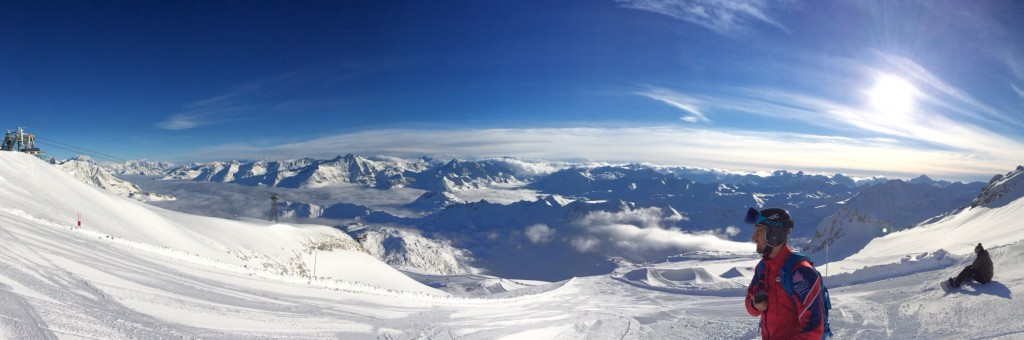 In my mind, this is what paradise looks like. I do mean the mountain, not that bloke (sorry Hatchwell) ;)