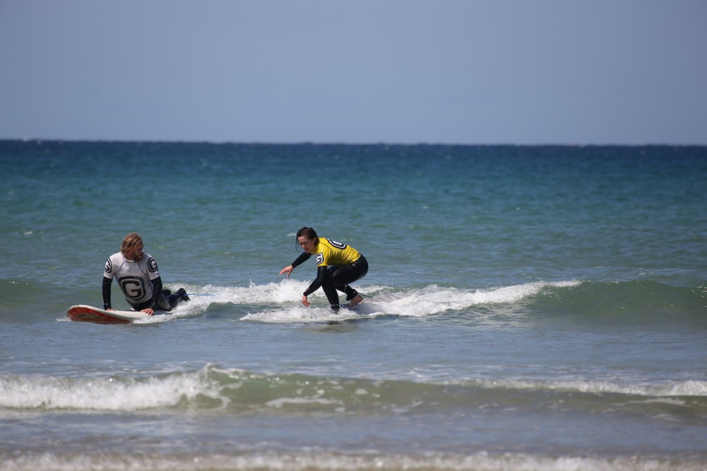 Learning to Surf with Georges 'Georges' Surf School'