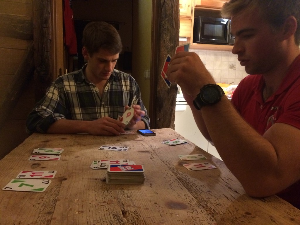 Playing Skipbo