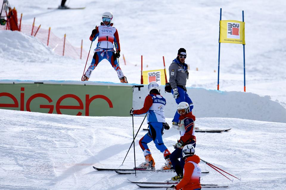 Course inspection in Oberjoch, Germany (Photo credits and thanks to 'RSR Ski Racing')