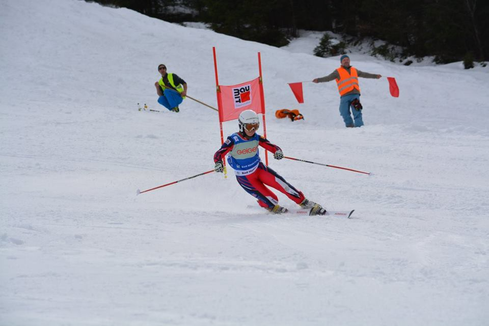 Racing in Oberjoch, Germany (Photo credits and thanks to 'Telemark Race')
