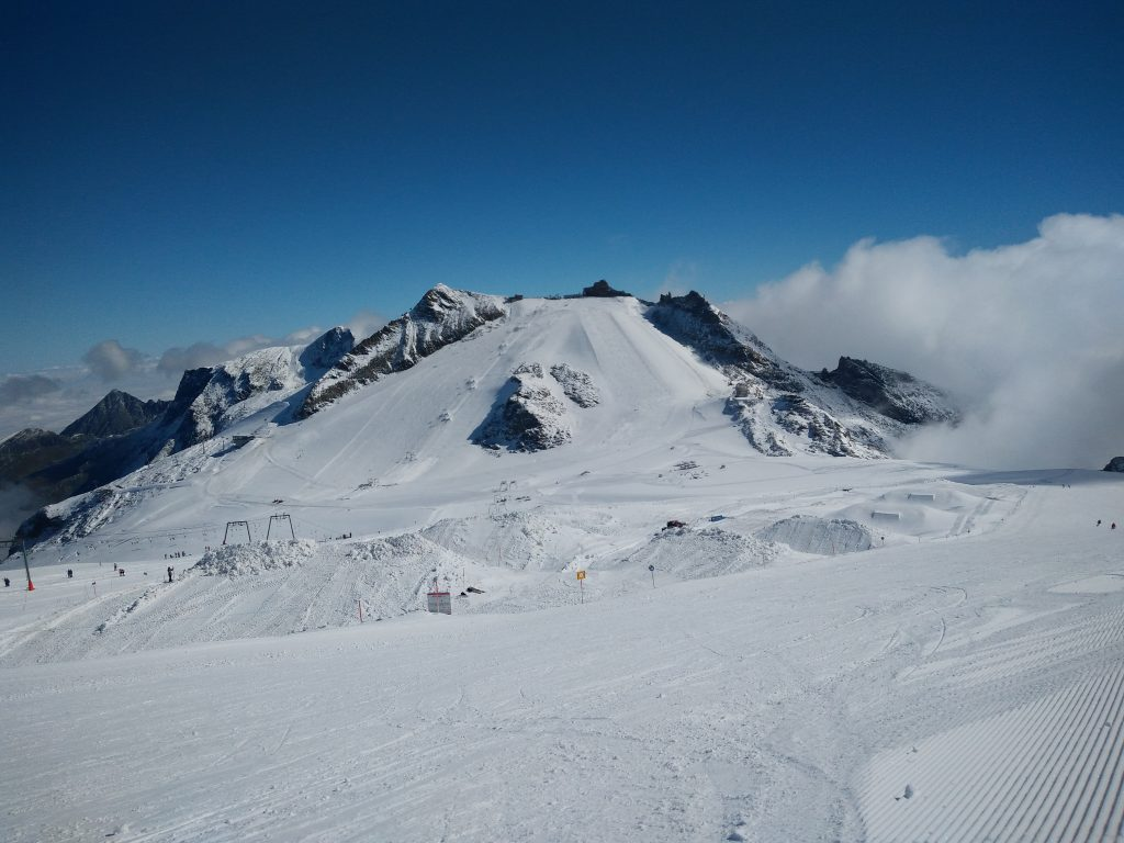 The Hintertux Glacier (Photo by Claire Houlton)