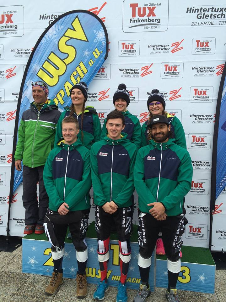 GB Telemark Ski Team in Hintertux