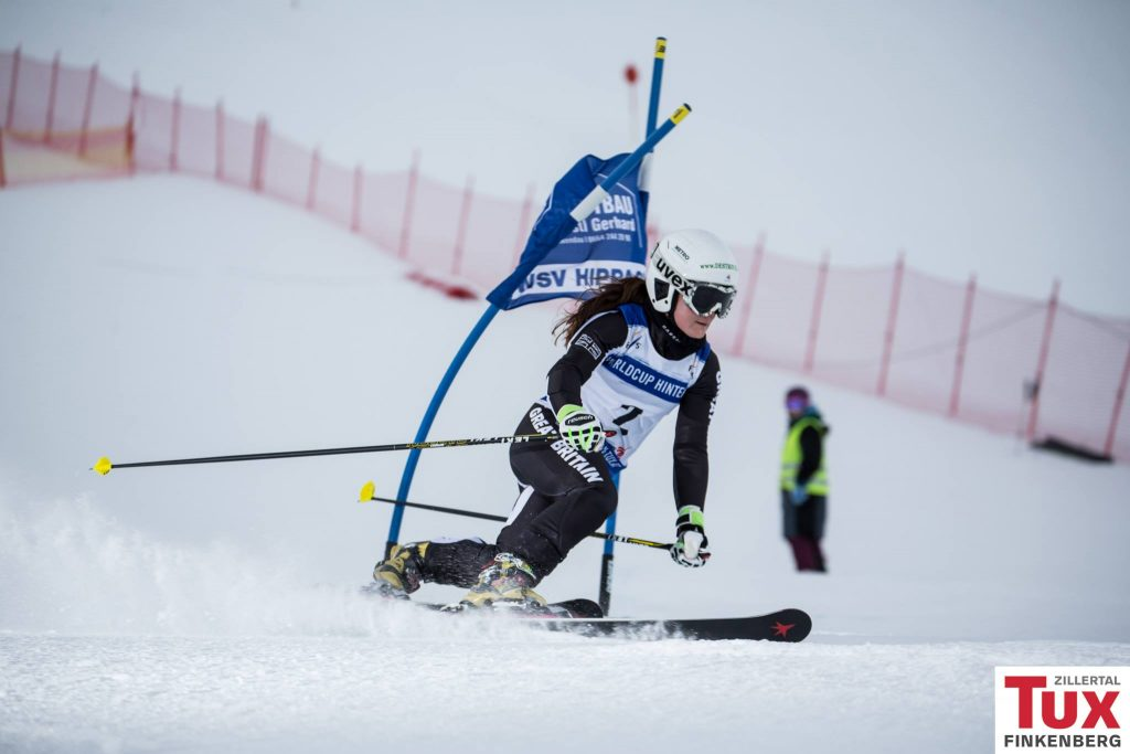 Jasmin Taylor in Hintertux