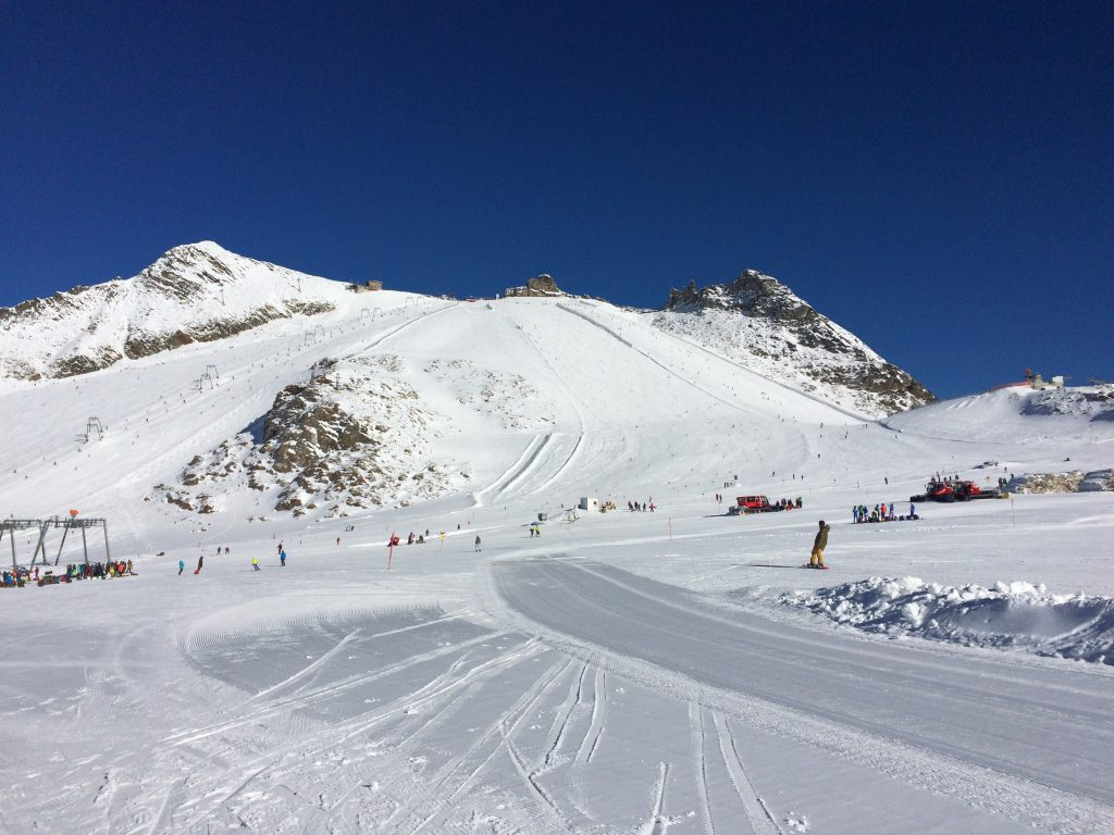 Great conditions in Hintertux