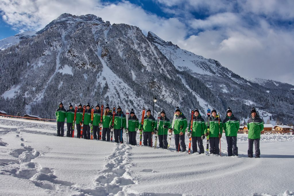The Great British Telemark Ski Team