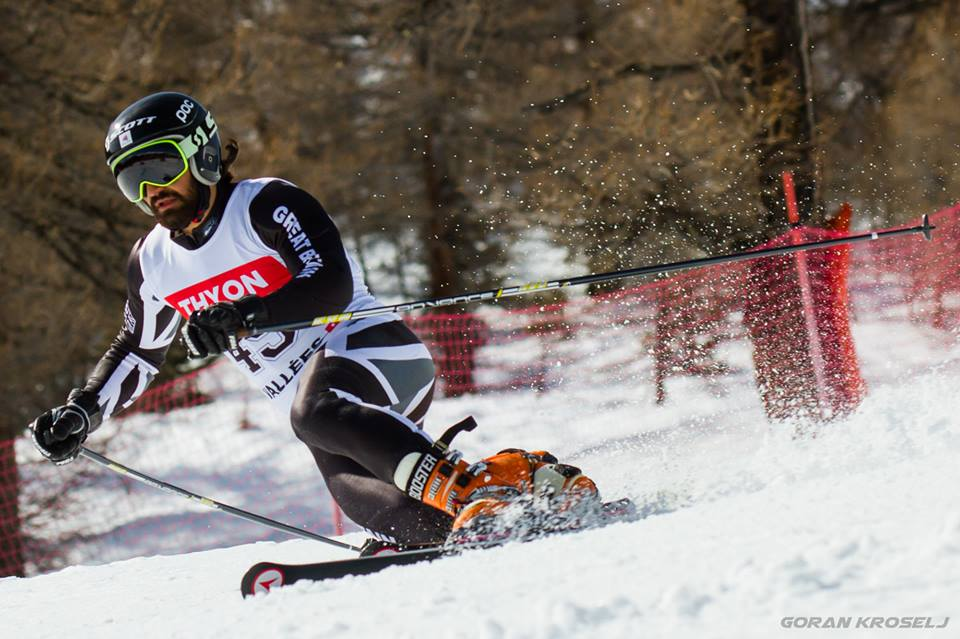 Louis on course (Photo credits and thanks to GORAN KROSELJ)