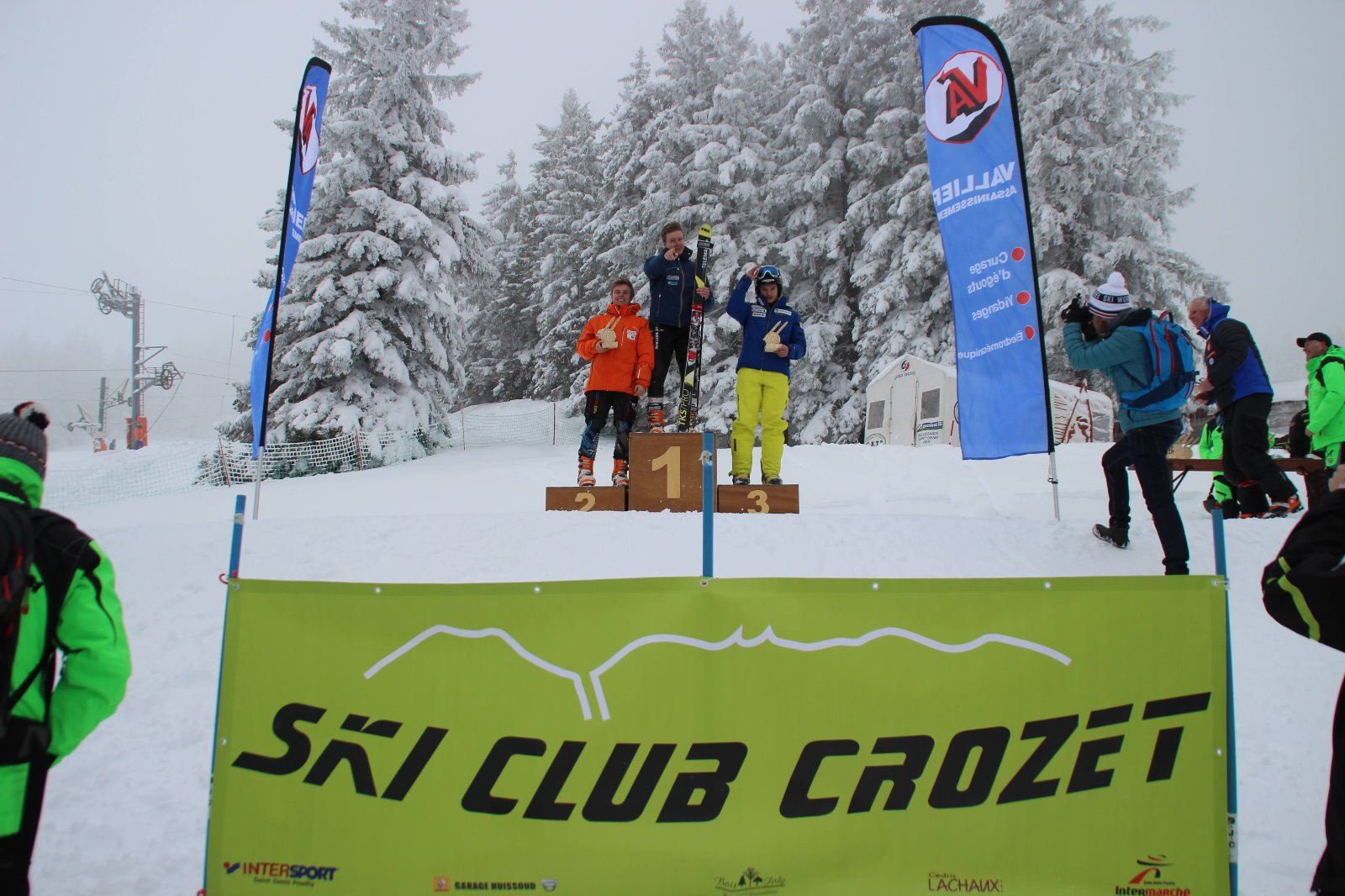 Victory for Alec Dixon at the FIS race in Lelex Mont Jura, France